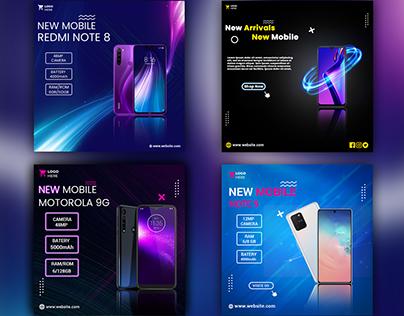Social Media Banner || mobile ads design ||
