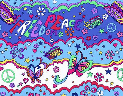 Hippie Chic Bedding Prints