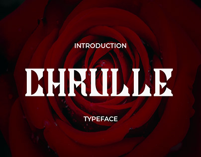 Chrulle Typeface Font
