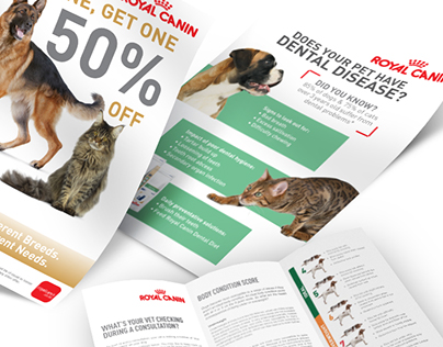 Royal Canin Marketing Material