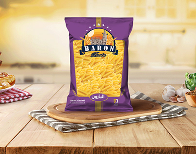 Baron Pasta Package design