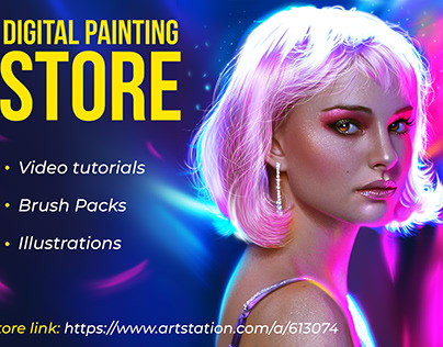 Digital painting store