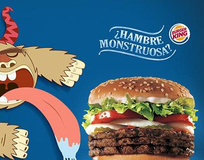 Burger King - Hambre monstruosa