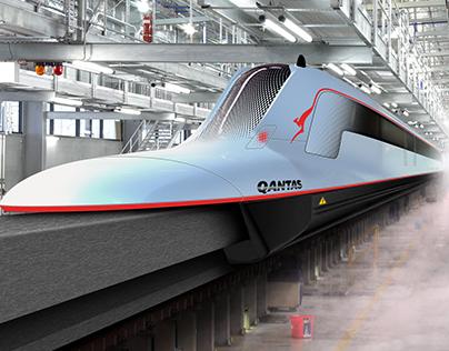 Sydney/Melbourne Maglev Train