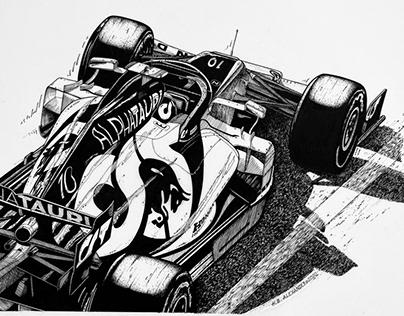 AlphaTauri F1. Pierre Gasly wins first GP.