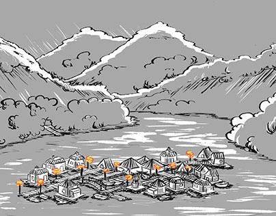 Fisherman's Dream (5 pg comic)