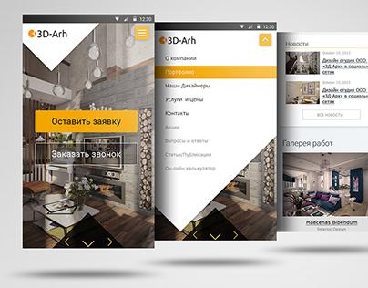 3D - Arh - Re-Design Web (Responsive)