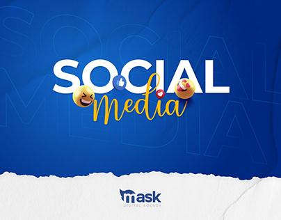 Mask Digital Social Media