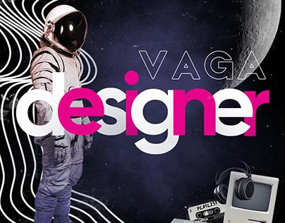 Post Vaga Designer - Agência K2