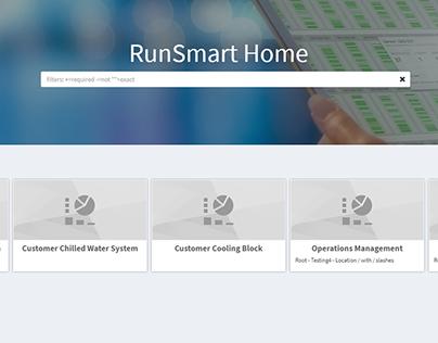 RunSmart Home Screen