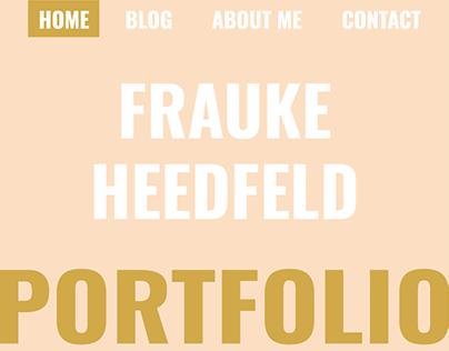 Blogportfolio - localhost - JS