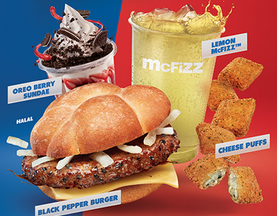 Mc Donald's French Menu