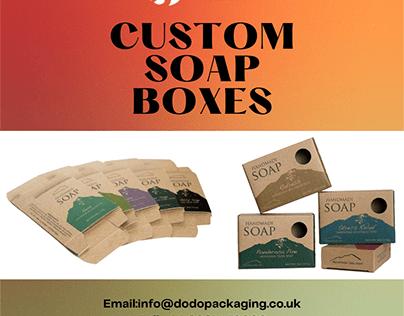 Custom Soap Boxes | Soap Boxes Wholesale UK