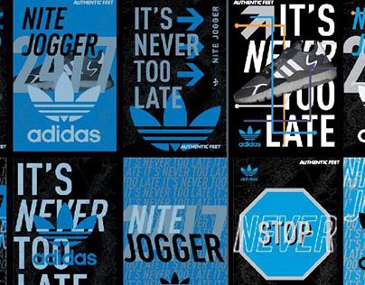 adidas nite jogger: influencers strategy