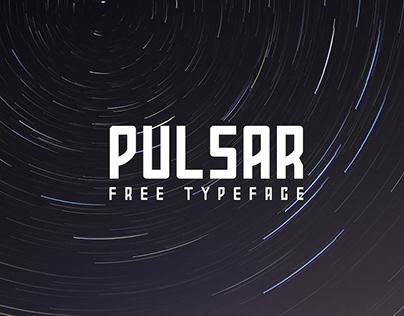 PULSAR - FREE FUTURISTIC FONT