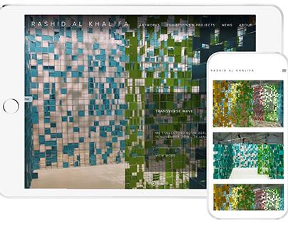 Website Design for Rashid Al Khalifa