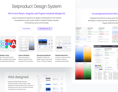 iOS design system  Figma components kit on Behance