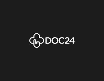 DOC24 – Brand Identity Design
