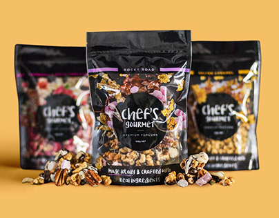 Chef's Gourmet pouch packaging design