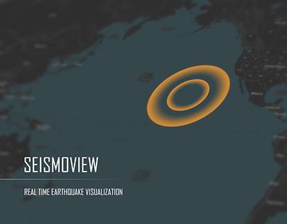 SEISMOVIEW : Real Time Earthquake Visualisation