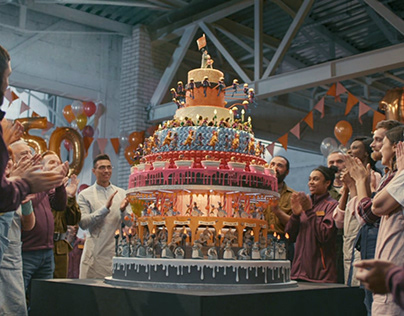Sainsbury's - 150th Celebration Zoetrope