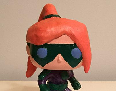 Gravity Girl custom Pop! figure