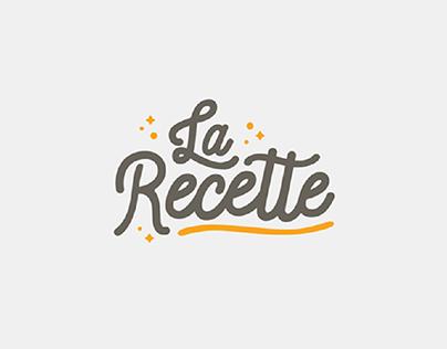 Diseño de marca - La Recette