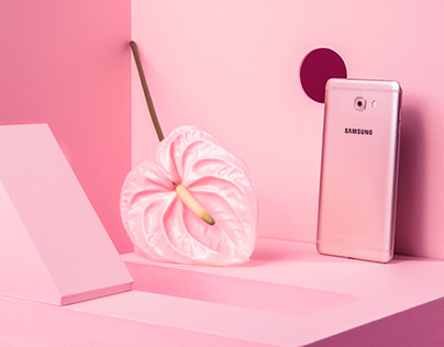 SAMSUNG C9pro Pink Social Campaign