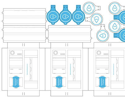Packaging & Unboxing Design - Smart Water Bottle