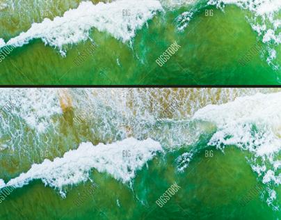 beach photo edit
