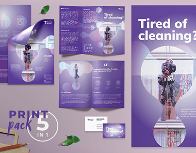Cleaning Service Templates Suite