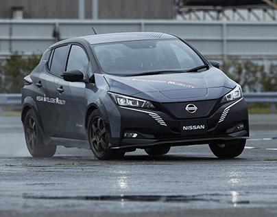 NISSAN-leaf-e-4orce-twin-motor-demo-car