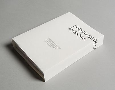 l'héritage de la mémoire_ Book