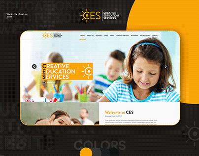 Educational Institution Website | Website Design