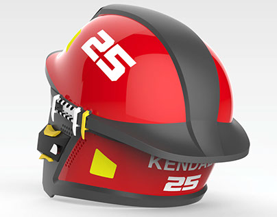 1098 Fire Helmet
