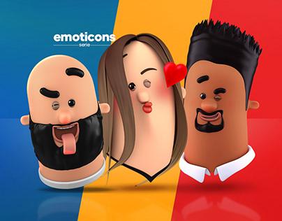 3D Emoticons serie