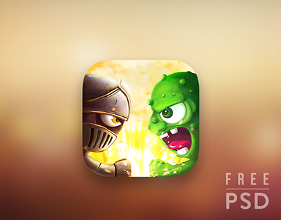 Free PSD Battle app icon