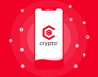 Crypto UI - Welcome screen