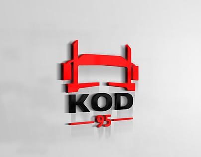 Logo for a new company KOD 95 in Wroclaw.