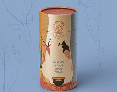 Sattva Tea Packaging Design