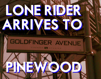 LoneRider Arrives to Pinewood