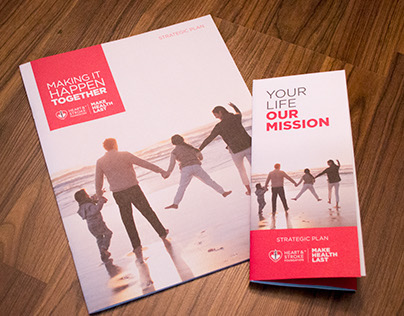 Heart&Stroke - Strategic Plan Brochure