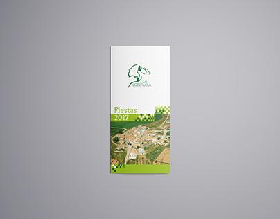 Brochure of the festivals of La Loberuela
