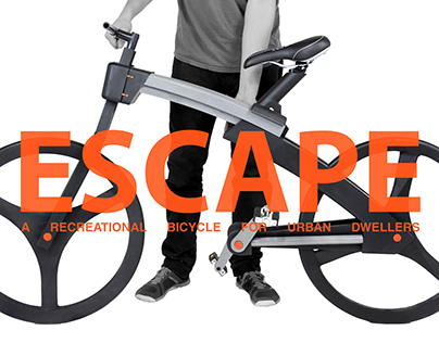 Escape, a recreational bicycle for urban dwellers
