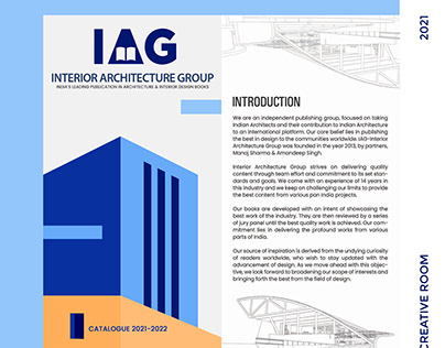 IAG (INTERIOR ARCHITECTURE GROUP) - CATALOGUE DESIGN