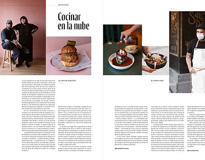 Photos for Gatopardo Magazine: Cocinar en la nube