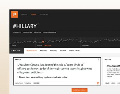 Independent Journal – An Intelligent News Platform