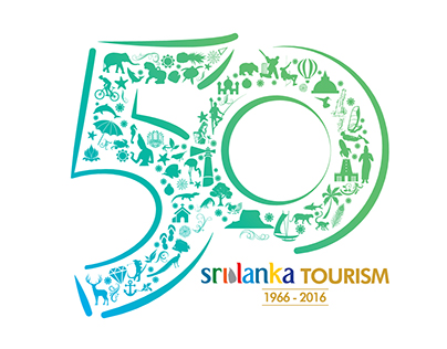 Sri Lanka Tourism 50th Logo