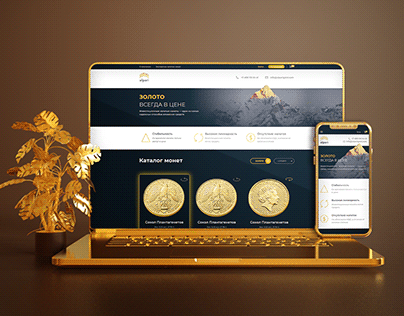Interface Design Alpari Gold