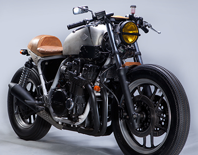 cafe racer (baba beruang) design and build for arxa